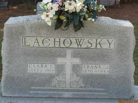 LACHOWSKY, CLARA C. - Faulkner County, Arkansas | CLARA C. LACHOWSKY - Arkansas Gravestone Photos