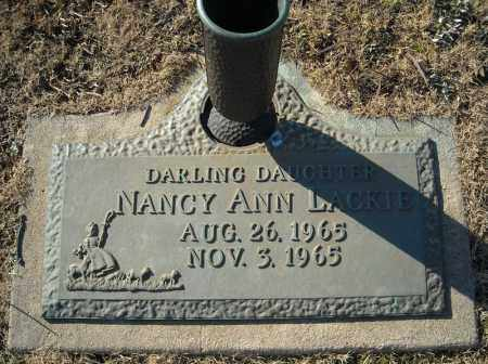 LACKIE, NANCY ANN - Faulkner County, Arkansas | NANCY ANN LACKIE - Arkansas Gravestone Photos