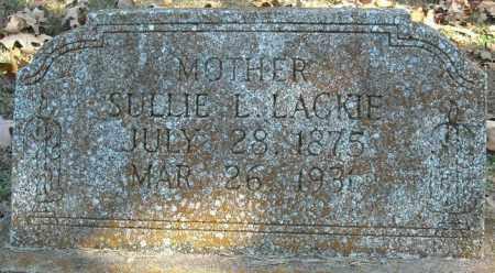LACKIE, SULLIE L. - Faulkner County, Arkansas | SULLIE L. LACKIE - Arkansas Gravestone Photos
