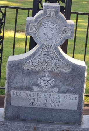 LAENGST REV C S SP, CHARLES - Faulkner County, Arkansas | CHARLES LAENGST REV C S SP - Arkansas Gravestone Photos