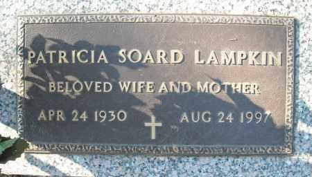 SOARD LAMPKIN, PATRICIA - Faulkner County, Arkansas | PATRICIA SOARD LAMPKIN - Arkansas Gravestone Photos