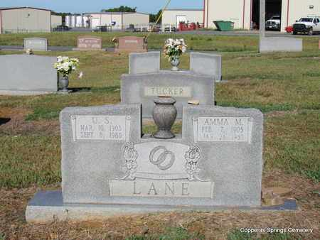 LANE, AMMA M. - Faulkner County, Arkansas   AMMA M. LANE - Arkansas Gravestone Photos