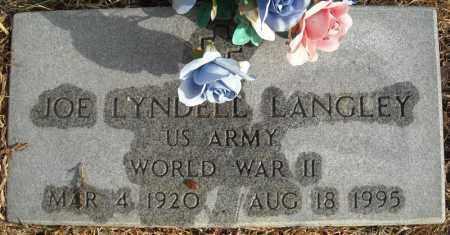 LANGLEY (VETERAN WWII), JOE LYNDELL - Faulkner County, Arkansas   JOE LYNDELL LANGLEY (VETERAN WWII) - Arkansas Gravestone Photos