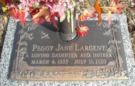 LARGENT, PEGGY JANE - Faulkner County, Arkansas | PEGGY JANE LARGENT - Arkansas Gravestone Photos