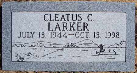 LARKER, CLEATUS C. - Faulkner County, Arkansas   CLEATUS C. LARKER - Arkansas Gravestone Photos