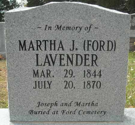 FORD LAVENDER, MARTHA JANE (CENOTAPH) - Faulkner County, Arkansas | MARTHA JANE (CENOTAPH) FORD LAVENDER - Arkansas Gravestone Photos