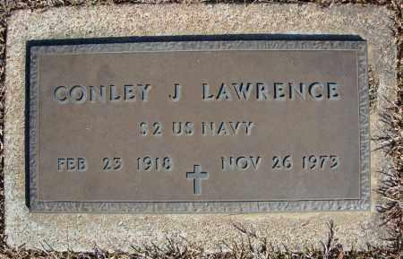 LAWRENCE (VETERAN), CONLEY J - Faulkner County, Arkansas   CONLEY J LAWRENCE (VETERAN) - Arkansas Gravestone Photos