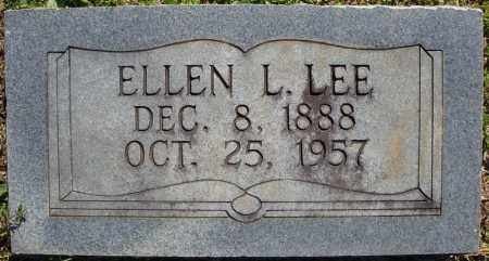 LEE, ELLEN L. - Faulkner County, Arkansas | ELLEN L. LEE - Arkansas Gravestone Photos
