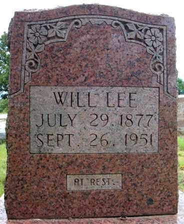 LEE, WILL - Faulkner County, Arkansas | WILL LEE - Arkansas Gravestone Photos