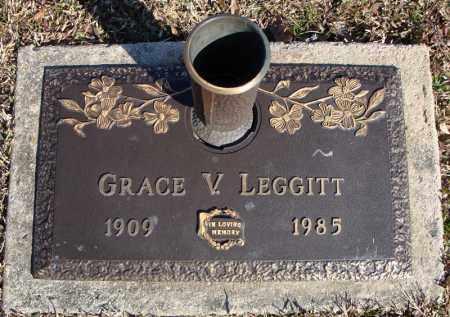 LEGGITT, GRACE V. - Faulkner County, Arkansas   GRACE V. LEGGITT - Arkansas Gravestone Photos
