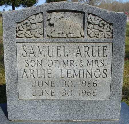 LEMINGS, SAMUEL ARNIE - Faulkner County, Arkansas | SAMUEL ARNIE LEMINGS - Arkansas Gravestone Photos