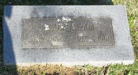 LEMM, JACOB - Faulkner County, Arkansas | JACOB LEMM - Arkansas Gravestone Photos