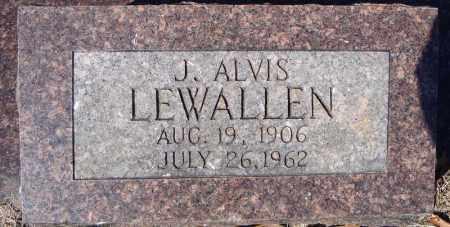 LEWALLEN, J. ALVIS - Faulkner County, Arkansas | J. ALVIS LEWALLEN - Arkansas Gravestone Photos