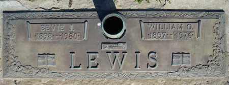 LEWIS, WILLIAM O. - Faulkner County, Arkansas | WILLIAM O. LEWIS - Arkansas Gravestone Photos
