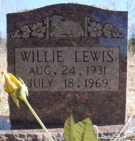 LEWIS, WILLIE - Faulkner County, Arkansas | WILLIE LEWIS - Arkansas Gravestone Photos