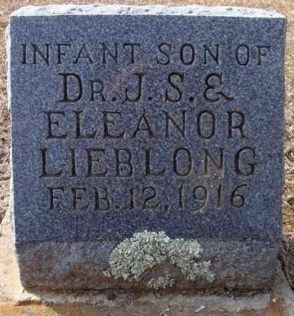 LIEBLONG, INFANT SON - Faulkner County, Arkansas | INFANT SON LIEBLONG - Arkansas Gravestone Photos