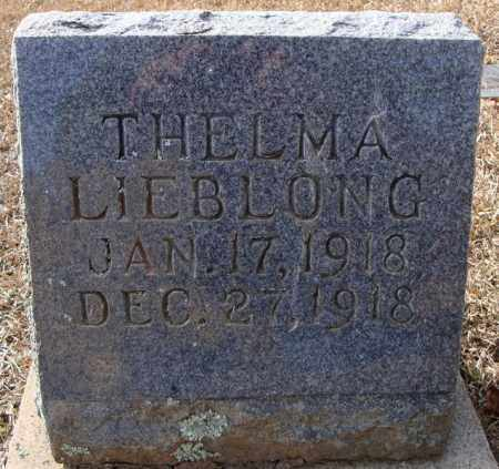 LIEBLONG, THELMA - Faulkner County, Arkansas | THELMA LIEBLONG - Arkansas Gravestone Photos