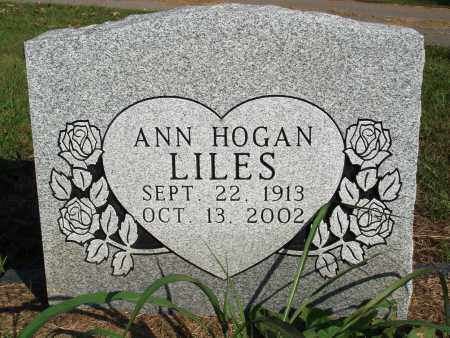 LILES, ANN - Faulkner County, Arkansas | ANN LILES - Arkansas Gravestone Photos