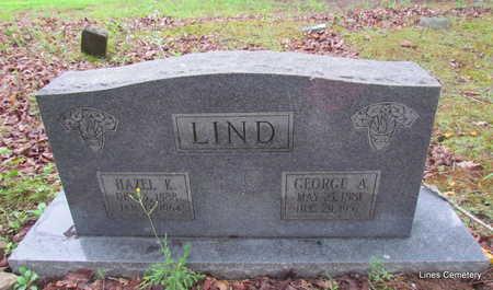 LIND, HAZEL K. - Faulkner County, Arkansas | HAZEL K. LIND - Arkansas Gravestone Photos