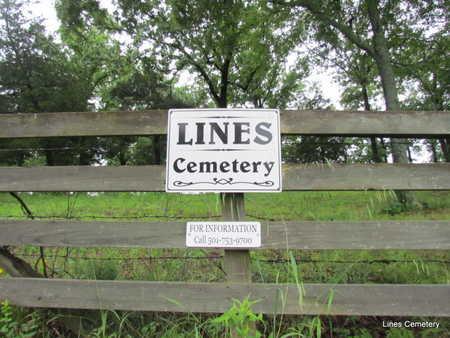 *LINES CEMETERY, SIGN & CONTACT - Faulkner County, Arkansas | SIGN & CONTACT *LINES CEMETERY - Arkansas Gravestone Photos