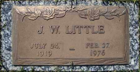 LITTLE, J.W. - Faulkner County, Arkansas | J.W. LITTLE - Arkansas Gravestone Photos