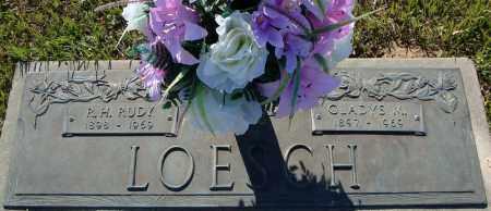 "LOESCH, R.H. ""RUDY"" - Faulkner County, Arkansas | R.H. ""RUDY"" LOESCH - Arkansas Gravestone Photos"