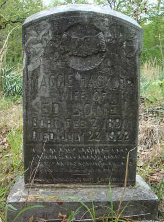 HACKLER LONE, MAGGIE - Faulkner County, Arkansas | MAGGIE HACKLER LONE - Arkansas Gravestone Photos