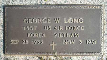 LONG (VETERAN 2 WARS), GEORGE W - Faulkner County, Arkansas | GEORGE W LONG (VETERAN 2 WARS) - Arkansas Gravestone Photos