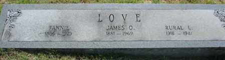"LOVE, RURAL LEONARD ""DOC"" - Faulkner County, Arkansas 
