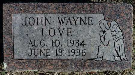 LOVE, JOHN WAYNE - Faulkner County, Arkansas | JOHN WAYNE LOVE - Arkansas Gravestone Photos