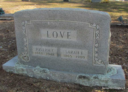 LOVE, SARAH L. - Faulkner County, Arkansas | SARAH L. LOVE - Arkansas Gravestone Photos