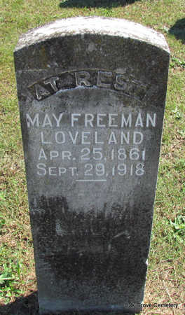 LOVELAND, MAY - Faulkner County, Arkansas | MAY LOVELAND - Arkansas Gravestone Photos