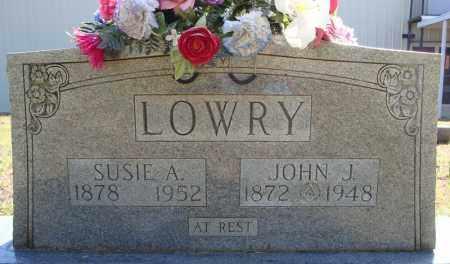 LOWRY, SUSIE A. - Faulkner County, Arkansas | SUSIE A. LOWRY - Arkansas Gravestone Photos