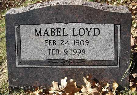 LOYD, MABEL - Faulkner County, Arkansas | MABEL LOYD - Arkansas Gravestone Photos