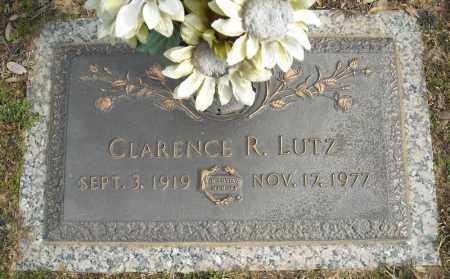 LUTZ, CLARENCE R. - Faulkner County, Arkansas   CLARENCE R. LUTZ - Arkansas Gravestone Photos