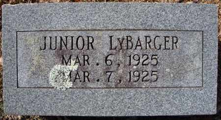 LYBARGER, JUNIOR - Faulkner County, Arkansas | JUNIOR LYBARGER - Arkansas Gravestone Photos