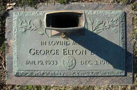 LYDA (VETERAN), GEORGE ELTON - Faulkner County, Arkansas | GEORGE ELTON LYDA (VETERAN) - Arkansas Gravestone Photos