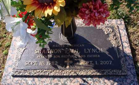 LYNCH (NATIVE AMERICAN), SHANNON PAUL - Faulkner County, Arkansas | SHANNON PAUL LYNCH (NATIVE AMERICAN) - Arkansas Gravestone Photos