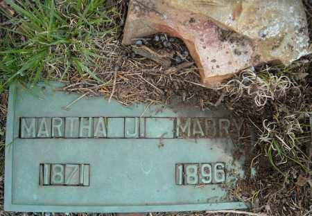 MABRY, MARTHA J. - Faulkner County, Arkansas   MARTHA J. MABRY - Arkansas Gravestone Photos