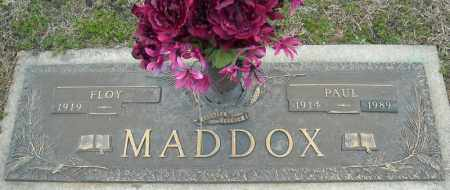 MADDOX, PAUL - Faulkner County, Arkansas | PAUL MADDOX - Arkansas Gravestone Photos