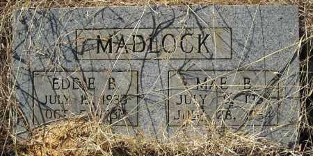 MADLOCK, MAE B. - Faulkner County, Arkansas   MAE B. MADLOCK - Arkansas Gravestone Photos
