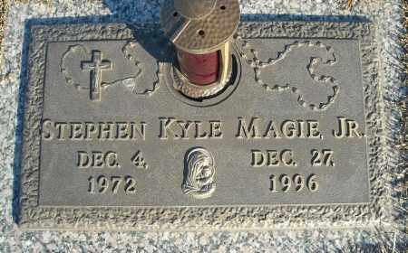 MAGIE, JR., STEPHEN KYLE - Faulkner County, Arkansas | STEPHEN KYLE MAGIE, JR. - Arkansas Gravestone Photos