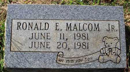 MALCOM JR., RONALD E. - Faulkner County, Arkansas | RONALD E. MALCOM JR. - Arkansas Gravestone Photos