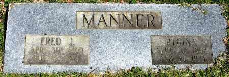 MANNER, REGINA - Faulkner County, Arkansas   REGINA MANNER - Arkansas Gravestone Photos