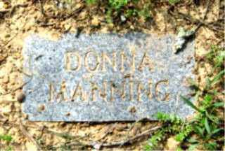 MANNING, DONNA - Faulkner County, Arkansas   DONNA MANNING - Arkansas Gravestone Photos