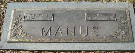 MANUS, ORA HAZEL - Faulkner County, Arkansas | ORA HAZEL MANUS - Arkansas Gravestone Photos