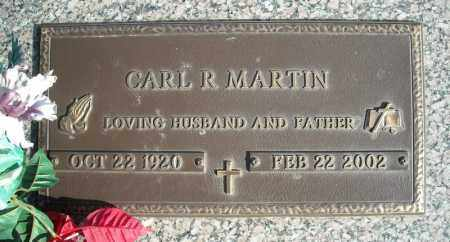 MARTIN, CARL R. - Faulkner County, Arkansas | CARL R. MARTIN - Arkansas Gravestone Photos