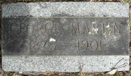 MARTIN, GEORGE - Faulkner County, Arkansas | GEORGE MARTIN - Arkansas Gravestone Photos