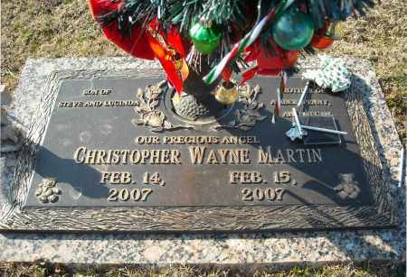 MARTIN, CHRISTOPHER WAYNE - Faulkner County, Arkansas | CHRISTOPHER WAYNE MARTIN - Arkansas Gravestone Photos