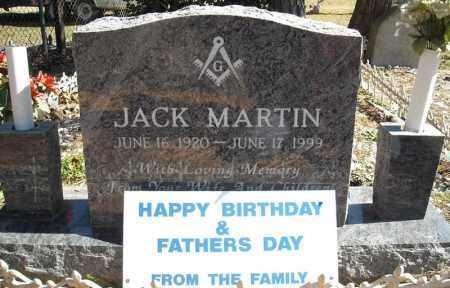 MARTIN, JACK - Faulkner County, Arkansas   JACK MARTIN - Arkansas Gravestone Photos